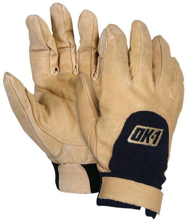 OK-1 Impact Safety Gloves FAV - Padded, Premium Grain Leather