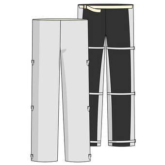 Otterlayer aluminized chaps LC4-ACF