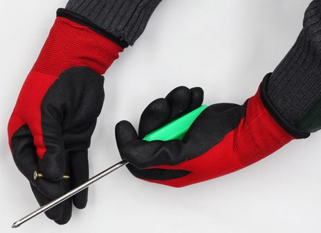 Superior SNTAPVC Palm Coated Insulated Freezer Work Gloves - Dexterity