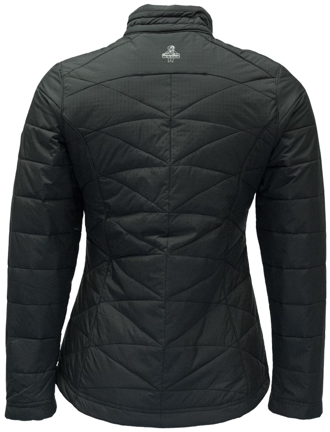 RefrigiWear 0423 Quilted Womens Insulated Work Jacket Back