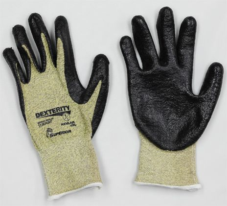 Superior Cut Resistant Safety Gloves S13KFGFNT - Front and Back