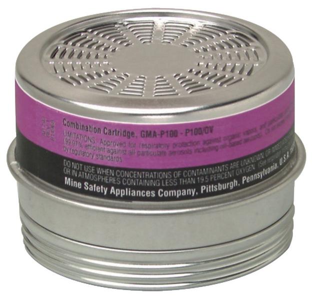 MSA 815178 OV Comfo Cartridge with P100 Filter