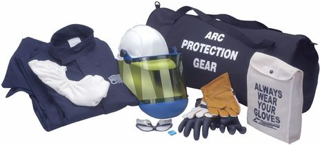 Arc Flash Suit Kit HRC Category 2 with Jacket and Pants
