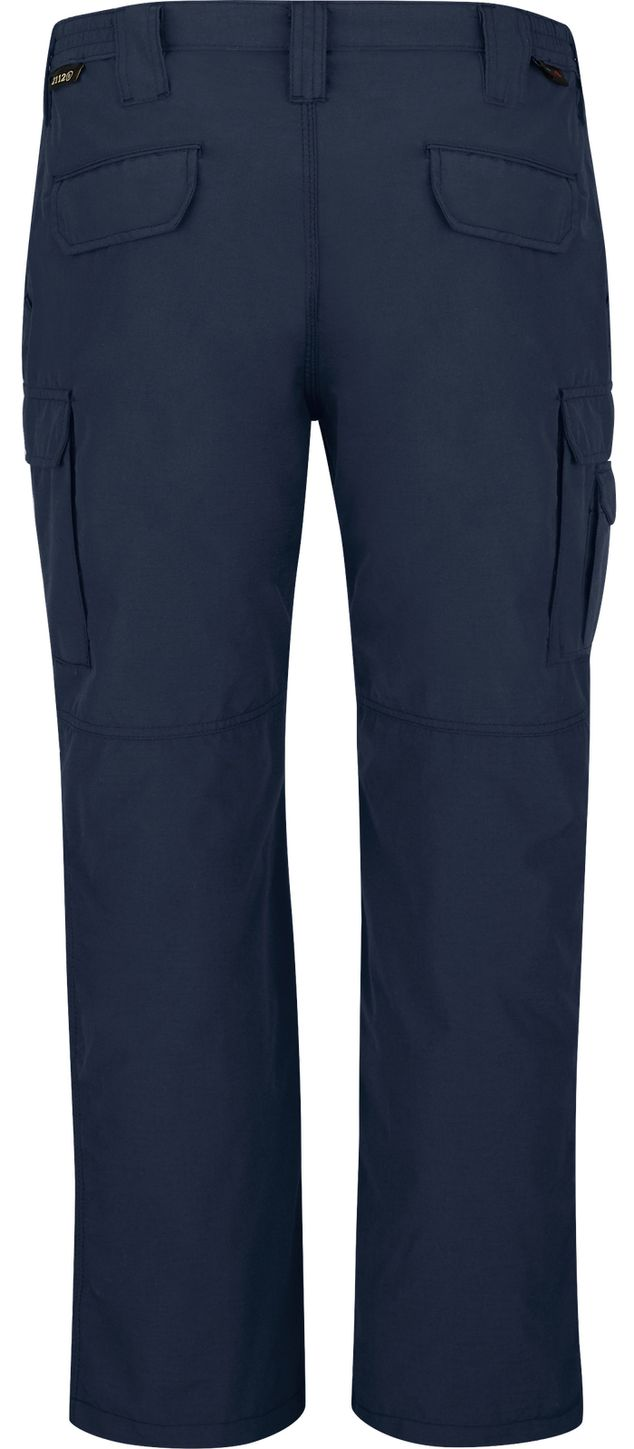 Bulwark FR Workrite Tactical Ripstop Pants FP40 Navy Back