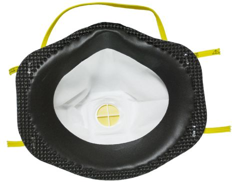 3M Disposable Respirator 8211 Face Seal Detail
