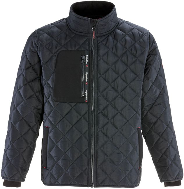 RefrigiWear 0444 - Diamond Quilted Jacket Front
