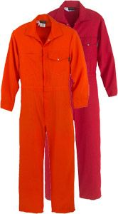Workrite Fire Resistant Coveralls 112NX60/1126 - 6 oz Nomex® IIIA