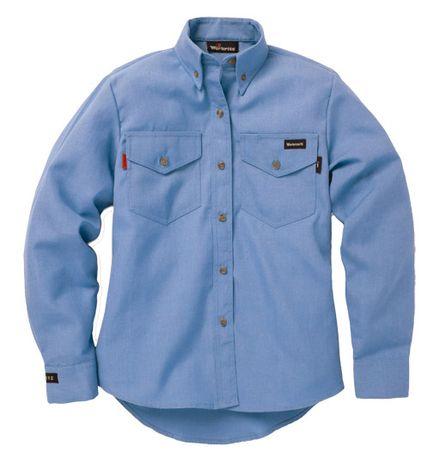 Workrite 290NX45LB Light Blue Nomex IIIA Shirt