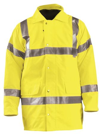 Occunomix Premium 5 In 1 Parka Jacket LUX-TJFS Front Yellow