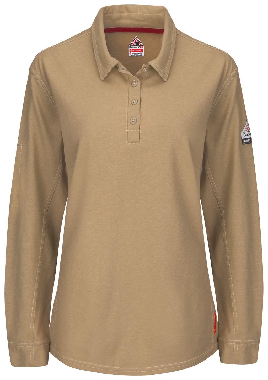 bulwark-women-s-fr-polo-qt15-iq-series-comfort-knit-khaki-front.jpg