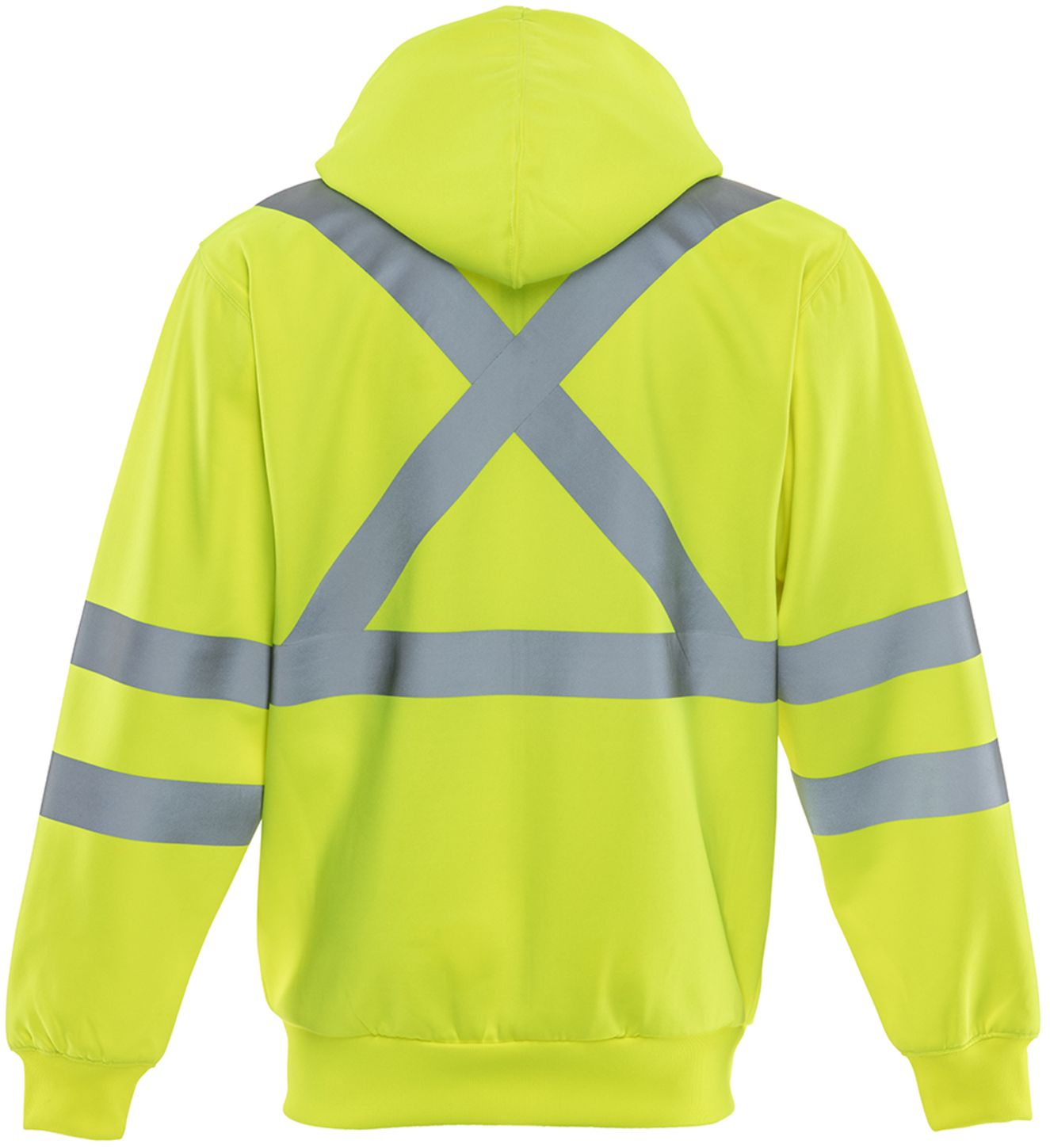 RefrigiWear 0484 HiVis Work Sweatshirt Back