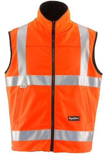 Refrigiwear 9499 HiVis Reversible Softshell Vest