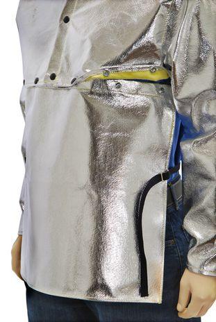 Otterlayer aluminized cape sleeve attachment detail SLB-ACF