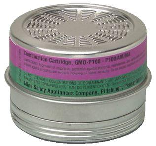 MSA 815181 Ammonia & Methylamine Comfo Cartridge with P100 Filter